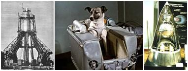 Картинки по запросу 1957 В СССР совершен запуск космического аппарата «Спутник-2» с собакой Лайкой на борту